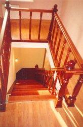Деревянные лестницы - foto 0